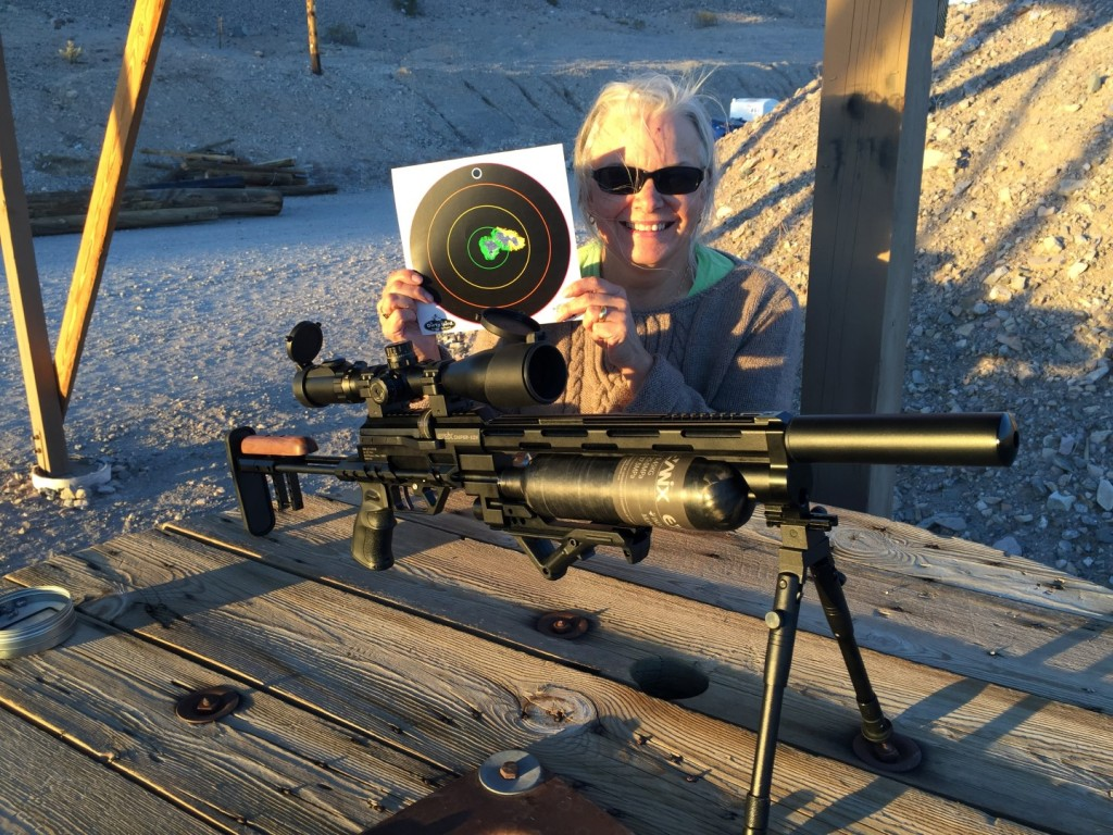 Karen Hocker and the Evanix X2K Sniper